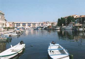 Grado Hafen